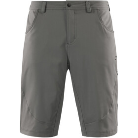 SQUARE Active Baggy Shorts Herren inkl. Innenhose grey
